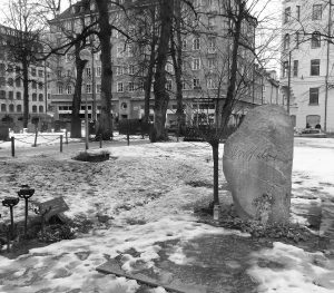 Graf van Olof Palme.